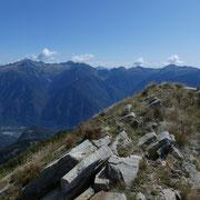 Discesa all'Alp de Martum
