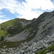 Passo dei Laghetti 2128 m