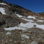 Quello che resta del ghiacciaio