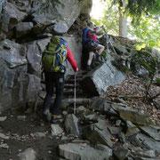 Salita ai Mont de Lanès