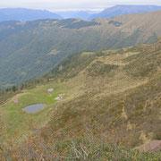 Verso l'Alpe di Gesero e Sasso Guidà