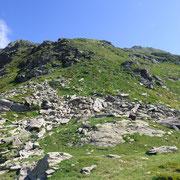 Salita alla cima quotata 2625 m