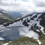 Lago Scuro 2451 m e Pizzo Taneda