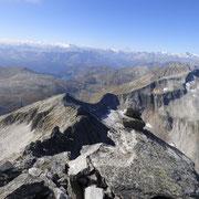 Piz Rondadura 3016 m, panorama