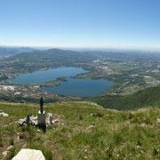 Panoramica dal Monte Rai