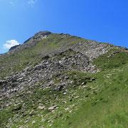 La cresta dal Pass de Buffalora alla Cima de Nomnom