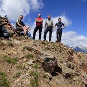 Pizzo di Campello 2660 m, oggi con Beniamino