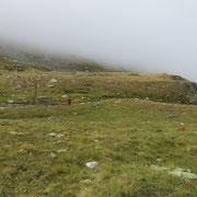 Im hinteren Loch a 2300 m