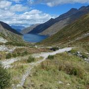 Discesa al Passo del Lucomagno nella Val Termine