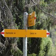 A 965 m deviamo per Auressio