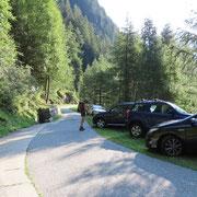 Posteggio all'Alp de Bec 1500 m