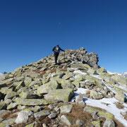 Monte Prosa cima 2723 m