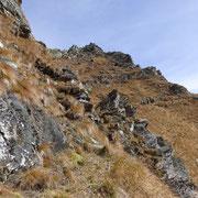 Discesa sul sentiero delle pecore