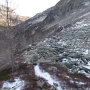 Sentiero alpino