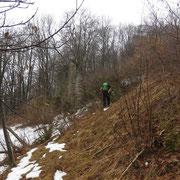 Arrivati ai Monti Piè 814 m