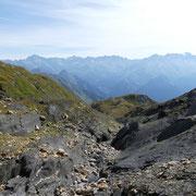 Attraversiamo la Val d'Inferno a ca. 2540 m