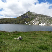 Lago retico e Cima della Bianca