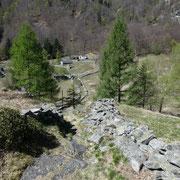 Arrivati al Passo della Garina 1076 m