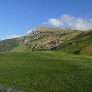Nufenen 1569 m, il Valser Horn coperto dalle nuvole