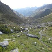 Verso l'Alpe Cruina