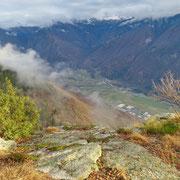 Punto panoramico sopra la Val Maio, verso Roveredo (GR)