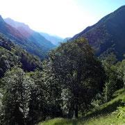 La Valle Onsernone vista da Spruga 1113 m
