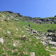 Siamo a circa 2450 m