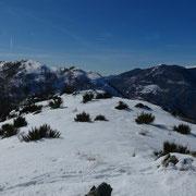 Dal Matro di Stinchè verso il Monte Bigorio