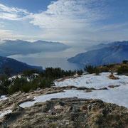 Monte Borgna 1157 m, verso Luino