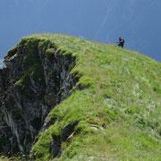 Salita per la cresta del Sasso Bianco