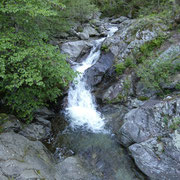 Attraversiamo il fiume Bordione