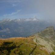 Vista dal Matro 2171 m