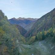 Val di Roggiasca vista dalla diga