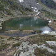 Lago di Mottella (piccolo) 2240 m