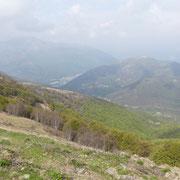 Dall'Alpe Crocc verso la Cima di Medeglia