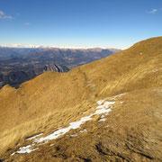 Cima della Piancaccia 1610 m