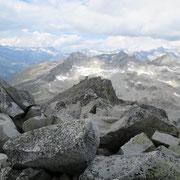 Vista dal Chüebodenhorn 3070 m