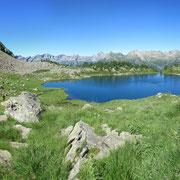 Lago di Mognòla 2003 m, Panoramica