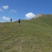 Sulla cresta verso il Guggernüll