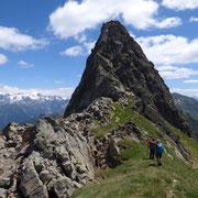 Bassa di Canariscetto 2488 m e Cima di Gana Rossa