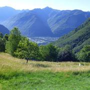 Verso la Valle d'Arbedo