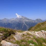 Verso la Val Calanca con il Piz Strega