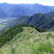 Verso l'Alpe d'Aspra