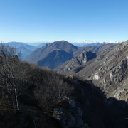 Verso il Monte Boglia