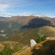 Panorama verso il Gazzirola