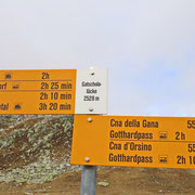 Passo d'Orsirora 2528 m