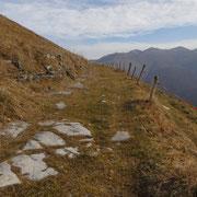 Proseguiamo per il Monte Bisbino