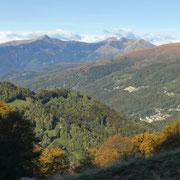 Panorama verso la Val Colla