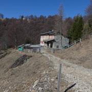 Capanna Pairolo 1349 m