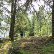 Salita all'Alp de Carnac